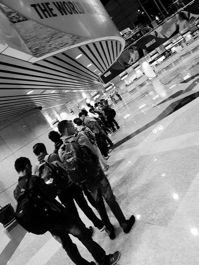Queue Sepang KLIA Malaysia Immigration
