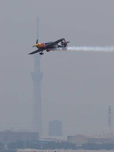Airplane and Tokyo Sky Tree RedBull Air Race 2016 Air Race The Great Outdoors - 2016 EyeEm Awards EyeEm Best Shots Enjoying Life イマソラ Sky_collection Sky Porn Skyscape The Purist (no Edit, No Filter) Snapshot Taking Photos Walking Around お写ん歩 Redbullairrace