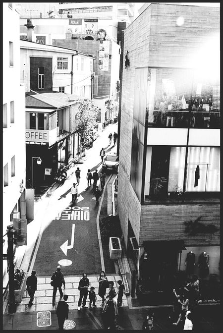 Street Downtown Good Afternoon Monochrome @korea seoul insa-dong @Leica D-LUX5