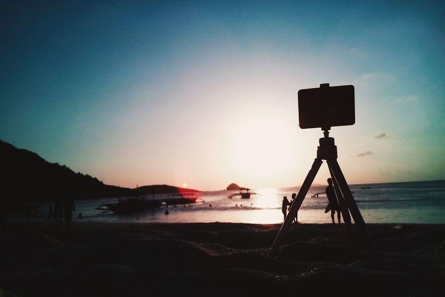 first timelapse attempt Silhouette Goprokiller Beahero Mobilephotography Calaguasisland Calaguas Mobilephotographyphilippines SJCAM SJ4000 Wifi