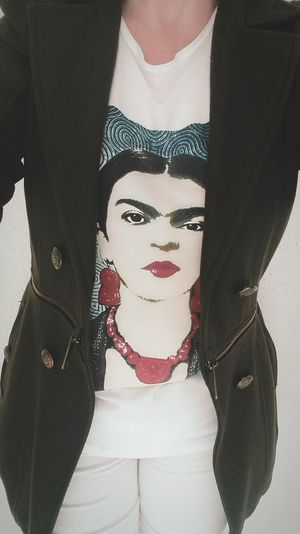 U like Frida? U will love my tshirts! Just ask me.. 🙂 Stylish Trendy Tshirts Special Unique Uniqueness Art ArtWork Women Photographers Fashion People Human Body Part Organic Cotton My Own Style Of Beauty My Own Busines Frida Kahlo Frida Kahlo Love It Frida Kahlo Atelier