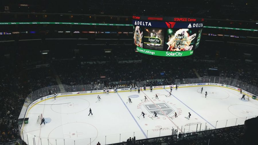 Hockey Hanging Out Los Angeles Kings Hello World