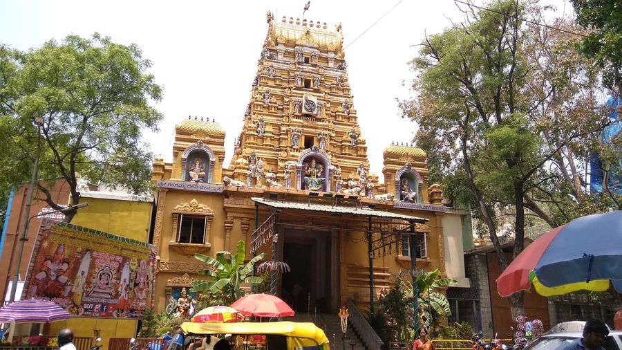 Temple Architecture Indian South Temple Tree Arts Culture And Entertainment Architecture Sky