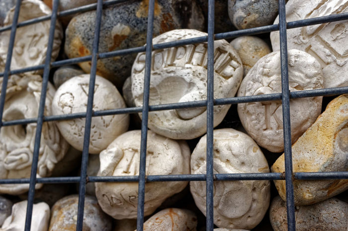 Whitstable Oyster Company Whitstable Kent. Kent United Kingdom Vivid Colours  Architecture Art Engraved Stones Human Skeleton Oyster  Stone Wall Tourism Travel Destinations
