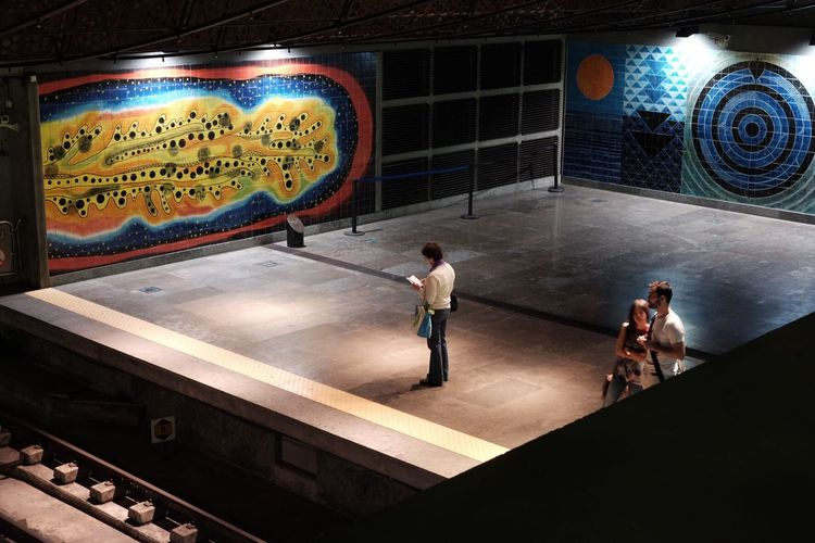 Arts Culture And Entertainment Architecture metro lissabon