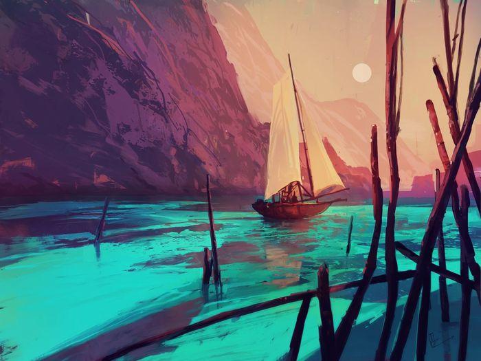 BrightFan Boat
