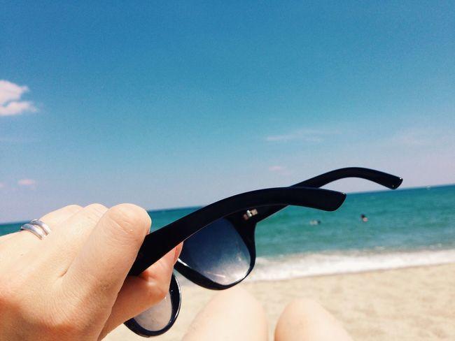 Holiday POV Summer Sea Sea And Sky Vacation The Traveler - 2015 EyeEm Awards