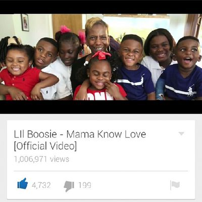 Go check out @officialboosie - Mama know love video if you haven't already checked it out. Freeboosie BadAzzEnt