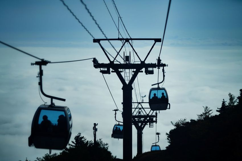 Capture The Moment Sea Cloud Sky Transportation Ropeway🚠 Silhouette People Low Angle View Cable Sky Fine Art Photography Mid-air Depth Of Field Scenics Selective Focus Getting Inspired Beauty In Nature Nature Overhead Cable Car Taking Photos Full Frame Detail Sony A7RII Sigma EyeEm Best Shots 17_10 Second Acts EyeEmNewHere