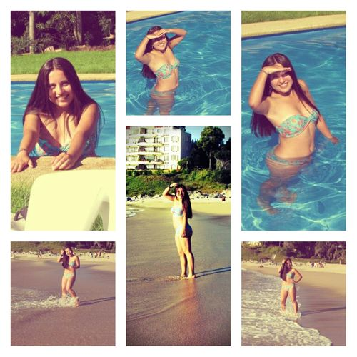 That's Me Sun Happy Summer Collage