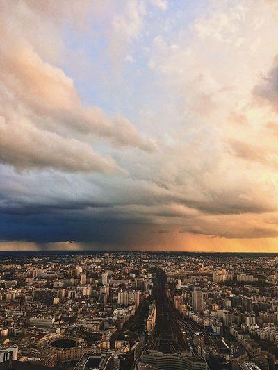 Storm on Paris