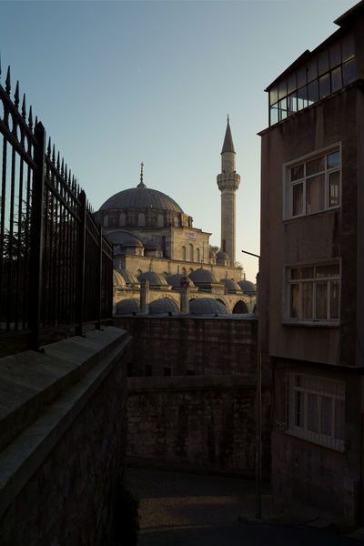 Cityscape Istanbul Morning Turkey Architecture Building Exterior Built Structure City Clear Sky Day Dome History Morningprayer Mosche Narrowstreet No People Outdoors Place Of Worship Religion Sky Spirituality Travel Destinations