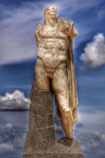 Emperador Adriano en las ruinas de Itálica, Santiponce (Sevilla, España) Italica Santiponce Sevilla SPAIN