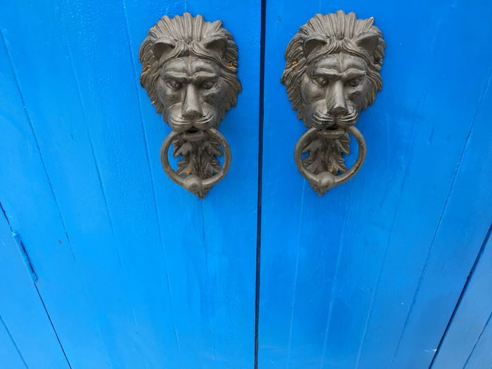 Blue Door No