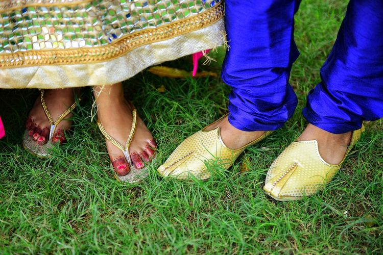 Love diary Traditional Clothing Traditional Culture Traditional Footwear Mehndi Paint the Town Yellow neon life Low Section Men Human Leg Women Grass Autumn Mood EyeEmNewHere Footwear Feet Capture Tomorrow Moments Of Happiness