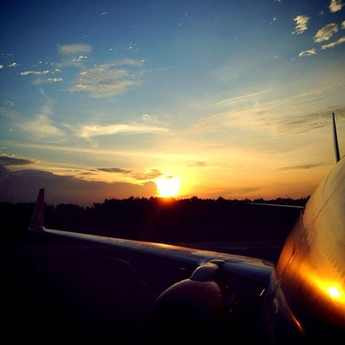 Winglet LionAir Wings Sunset Aircraft Fa Bensambur Aviation