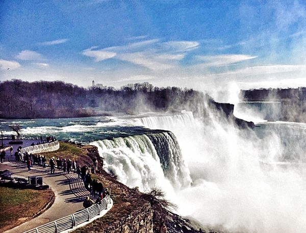 Niagara Falls Niagara Falls Niagara Falls NY Waterfall Waterfalls Waterscape Travel Destinations Mist The Great Outdoors - 2016 EyeEm Awards Lost In The Landscape Been There.