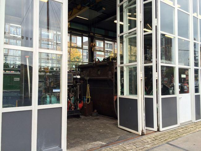 Door Engineering Glass Old Hardware Transparent Window Workshop