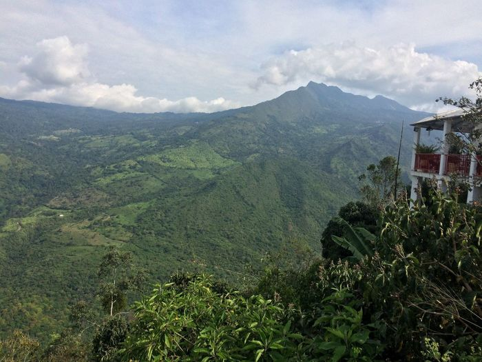 Cordillera Cloud - Sky Beauty In Nature Plant Tree Scenics - Nature Mountain Sky