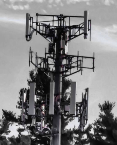 Local cell tower. Cell Tower Streetphoto_bw Eye4photograghy Urban Landscape