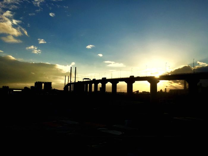 Dartford Crossing Sky Built Structure Architecture Sunset Transportation Connection Bridge - Man Made Structure No People Outdoors Cloud - Sky Nature Day Dartfordcrossing Dartford Building Bridge Bridges Sunset_collection