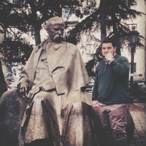 Shevchenko Monument Taking Photos That's Me Relaxing