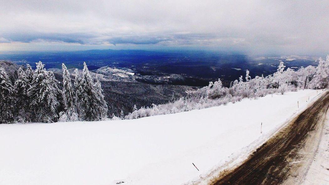 South Black Forrest Germany Black Forrest Snow ❄ DJI Phantom 3 Professional Weather Tranquil Scene