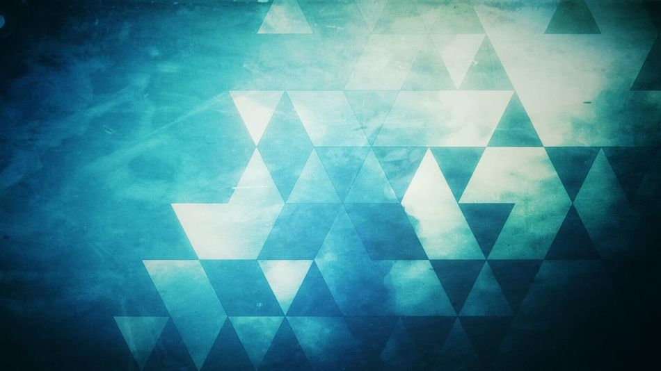 Reflections & Triangles V2 - One of my favourite pictures redesigned.
