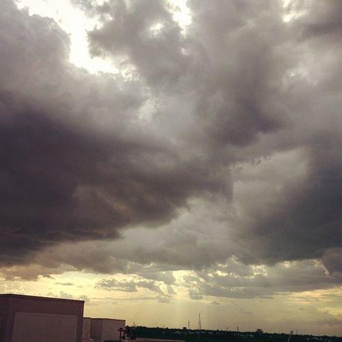 Trichy clouds!