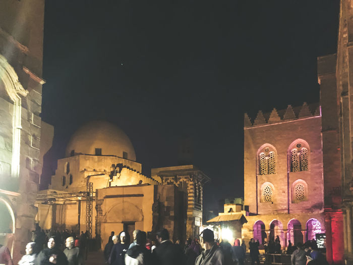 Adult Al Muizz Street Architecture Business Finance And Industry Celebration Christmas City Clock Crowd Illuminated Islamic Architecture Islamic Art Islamic Cairo Islamic Calligraphy Islamic Walk Large Group Of People Mosque Night Nightphotography Outdoors People Religion Sky Streetphotography