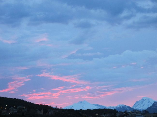 Beauty In Nature Cloud - Sky Clouds And Sky Dramatic Sky Mountain Mountain Range Mountains Nature No People North Norway Outdoors Red Clouds Red Sky Scenics Sky Snow Sunset Winter Shades Of Winter