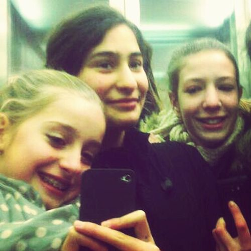 Im Aufzug xD