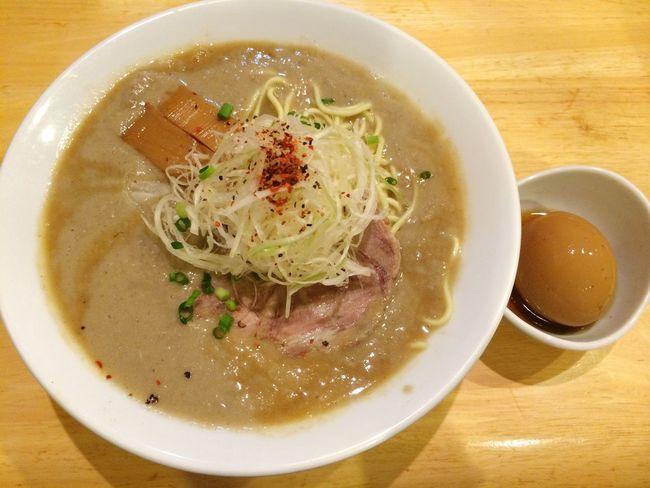 ラーメン 京都 Kyoto 一乗寺 Japan Noodles 極鶏。今回は煮玉子も。
