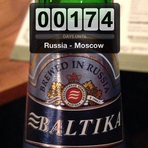Drinking this gets me excited for Russia! Russia Moscow России москве пива