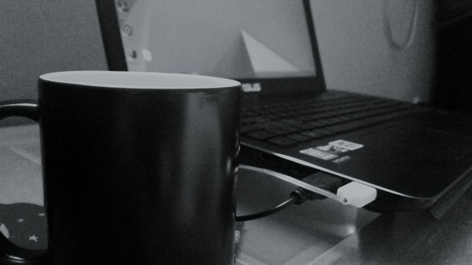 Black & White Monochrome Homework Coffee Asus Math Time to make this shit real ! ??⏳