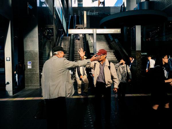 Kyoto, Japan, 2016 Everybodystreet Japan Kyoto Light And Shadow Mobilephotography Real People Streetphotography The Street Photographer - 2017 EyeEm Awards