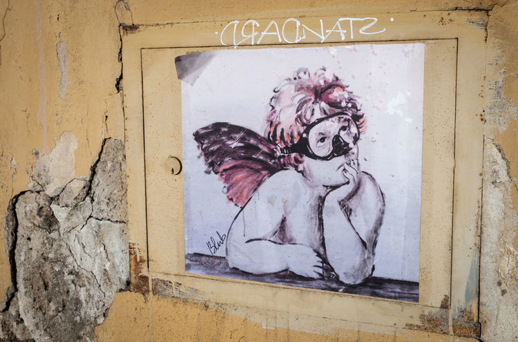 Art on the streets of Florence - Blub Blub Close-up Day Firenze Florence Florence Italy Italia Italy Italy❤️ No People Outdoors Street Art Street Art/Graffiti Streetart Streetart/graffiti Wall