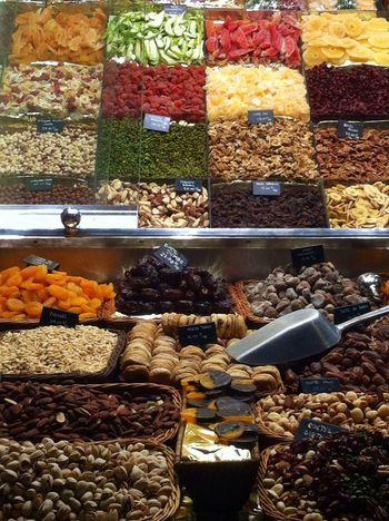 Colores Naturales Market Mercado De La Boqueria
