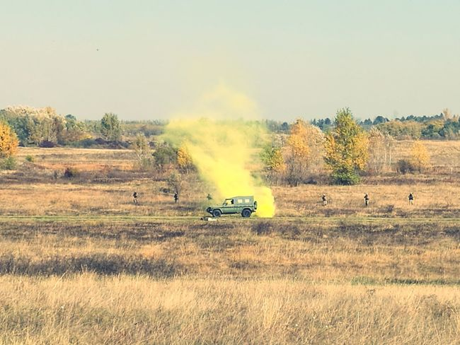 Military demonstration yay Field Nature Military Military Parade First Eyeem Photo