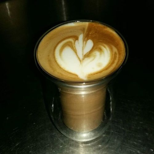 Firstattempt Coffeepouring Latteart Morepracticeneeded
