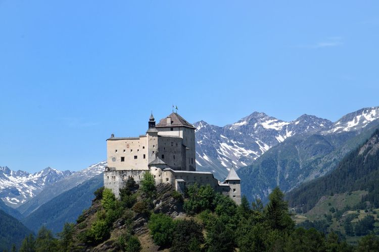 Castle Tarasp Nikon5500 Schloss Tarasp Tarasp Unterengadin, Beauty In Nature Engadin Engadine Switzerland Mountain Nature Outdoors Scenics - Nature Scuol Sky Swiss Alps Swiss Mountains Switzerland Tamron Lens