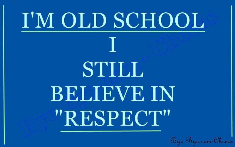Yes I Do. Bcuz I Wuz Raised Da Right Way!!!