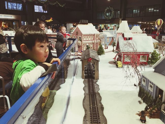 Christmas train set. Assessed! First Eyeem Photo