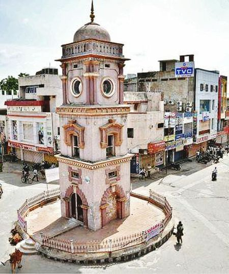 Clocktower Its In Karimnagar Karimnagar. India_clicks Eye Em Best Shots From India With Love...