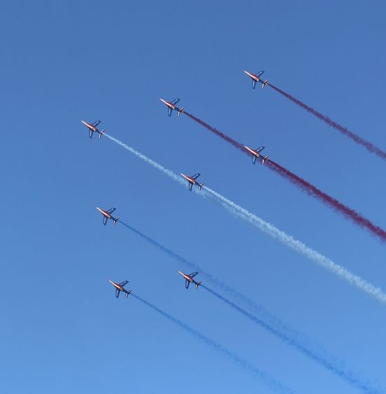 Sky Airplane Air Vehicle Flying Airshow