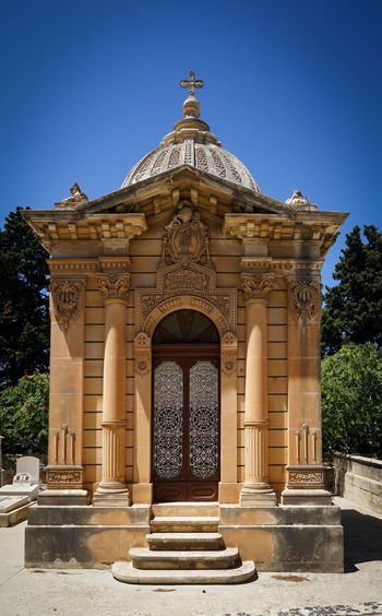 Crypt Tombstone Architecture Military Paola❤ Malta Cemetery Santa Marija Addolotara Tipical Tomb