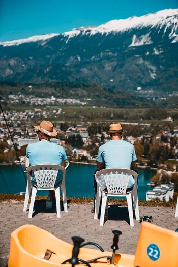Just hanging Mountain Nature Chair Seat Sitting Day Rear View Land Real People Sunlight Tourism People Beach Leisure Activity Men Outdoors Lifestyles Sunny Beauty In Nature Mountain Range The Street Photographer - 2018 EyeEm Awards