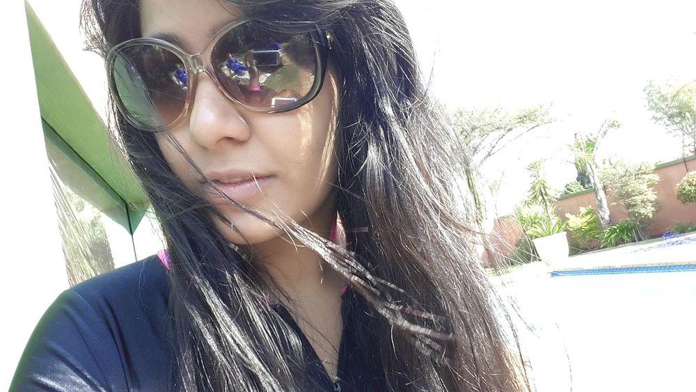 My Cousin taking a Selfie .. Beautiful ♥