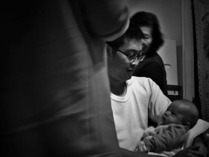 2018/2/17 家族群像 於五股 Family Family❤ Family Time Taiwan Bw Bw_lover BW_photography B&w Photo Bw Photography B&w B&w Photography Bwphotography Child Childhood Togetherness Baby Family EyeEmNewHere