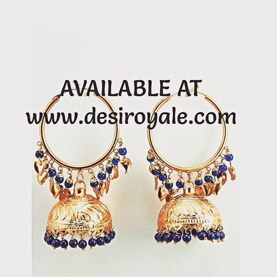 Check out our Beautiful Goldplated Earrings at www.desiroyale.com Freeshipping plus everything 20% off for a limited time. Desi Desiroyale Wedding Punjabi Picoftheday Photooftheday Indianbride Gorgeous Lovely Accessories Jewelry MustHave Trend Stylist Buy Diwali Rakhi Gift Online  Shopping Jhumka burningman desiweddings anarkali sangeet jago